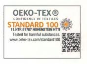 Öko Tex 100 schadstofffrei